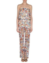 George J. Love Pant Overalls White