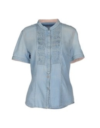 Murphy And Nye Denim Shirts Blue