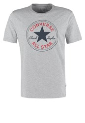 Converse Classic Fit Print Tshirt Vintage Grey Heather
