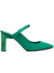 Alyx Squared Toe Sandals Green