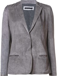 Fabiana Filippi Shift Blazer Grey
