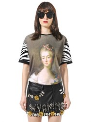 Ungaro Madame Du Barry Printed Cotton T Shirt