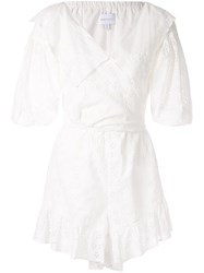 Alice Mccall Wilde Grotto Playsuit White