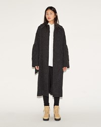 Acne Studios Bettina Coat Dark Grey Mix