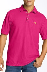 Tommy Bahama Men's Big And Tall 'The Emfielder' Pique Polo Spring Cherry