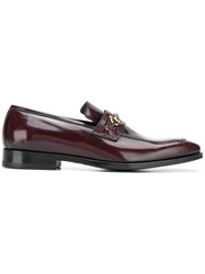 Tagliatore Horsebit Loafers Red