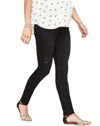 A Pea In The Pod Luxe Essentials Maternity Skinny Jeans Black Wash