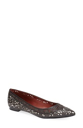 Aerin 'Irving' Pointy Toe Flat Women Black Bone
