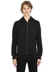 Belstaff Fleming Hooded Zip Up Cotton Sweatshirt