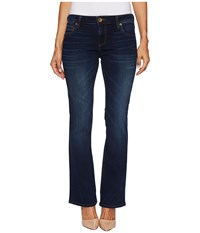 Kut From The Kloth Petite Natalie High Rise Bootcut In Closeness Euro Closeness Euro Women's Jeans Blue