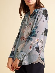 Modern Rarity Archive Bloom Open Back Blouse Multi