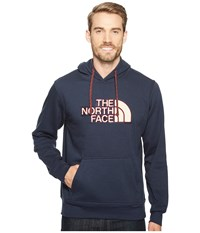 The North Face Americana Pullover Hoodie Urban Navy Cardinal Red Men's Sweatshirt Blue