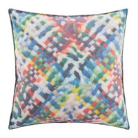 Zoeppritz Since 1828 Soft Woven Cushion Multicolour