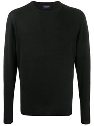 Drumohr Plain Crew Neck Jumper 60