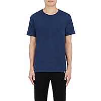 Solid And Striped Men's Patch Pocket T Shirt Navy