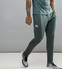 Canterbury Of New Zealand Tapered Stretch Pants In Khaki Exclusive To Asos Green