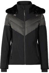 Fusalp Anne Hooded Ski Jacket Black