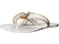 Jack Rogers Alana Jelly White Gold Women's Sandals
