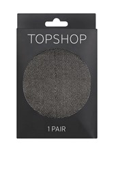 Topshop Micro Fishnet Tights Black