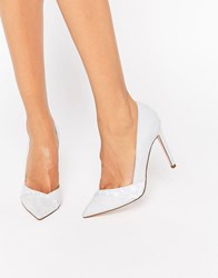 Asos Pepper Pointed High Heels Blue