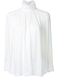 Cityshop Satin Blouse White