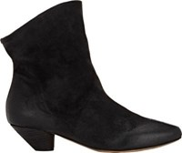 Marsell Women's Slouchy Ankle Boots Black Size 5.5