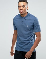 Original Penguin Slim Fit Polo Shirt Blue