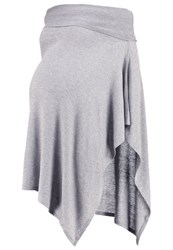 Mama Licious Mlsammy Cape Medium Grey Denim