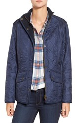 Barbour Women's 'Cavalry' Quilted Jacket Dress Blue