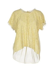 Souvenir Clubbing Blouses Light Yellow