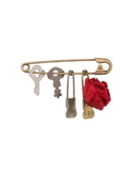 Undercover Safety Pin Gold