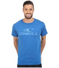 O'neill Supreme Short Sleeve Screen Tee Royal Blue Men's Short Sleeve Pullover