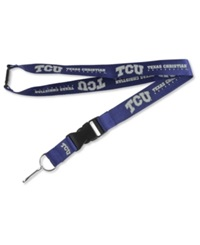 Aminco Texas Christian Horned Frogs Lanyard Purple
