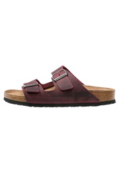 Birkenstock Arizona Slippers Zinfandel Red