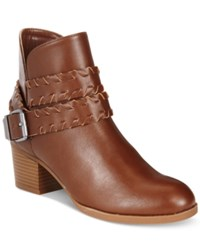 Styleandco. Style Co. Dyanaa Booties Only At Macy's Women's Shoes Barrel Brown