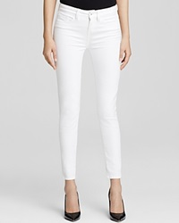 Yummie Tummie Yummie By Heather Thomson Skinny Ankle Jeans In White