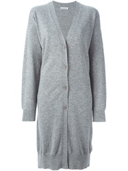 Tomas Maier Oversized Cardigan Grey