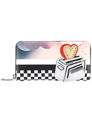 Marc Jacobs Printed Continental Wallet Women Leather One Size