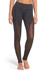Alo Yoga Women's 'Motion' Leggings Black Arches Black