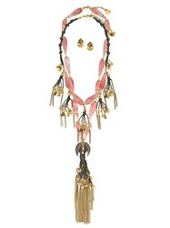 Camila Klein 2 Necklaces And Earrings Set 60