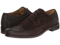 Billy Reid Butz Wingtip Shoe Dark Brown Men's Shoes