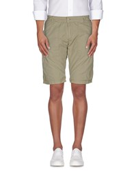 Bomboogie Trousers Bermuda Shorts Men Military Green