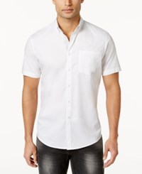 Inc International Concepts Men's Larento Stretch Shirt Only At Macy's White