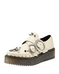 Coach Western Creeper Chunky Sneakers Chalk