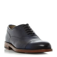 Oliver Sweeney Lupton Toecap Leather Oxford Shoes Navy