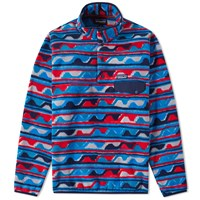 Patagonia Synchilla Snap T Pullover Blue