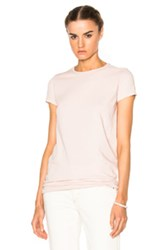 Rick Owens Drkshdw By Level Tee In Pink