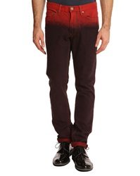 Marc By Marc Jacobs Ombre Faded Burgundy Jeans