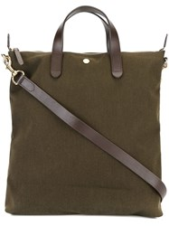 Mismo Round Handle Tote Green