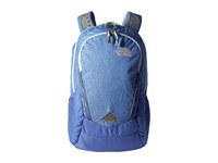 The North Face Women's Vault Stellar Blue Heather Arctic Ice Blue Backpack Bags